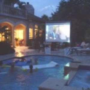 Backyard Projections - Outdoor Movie Screens / Halloween Party Entertainment in San Antonio, Texas