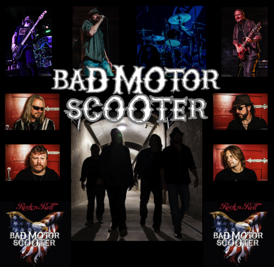 hire bad motor scooter classic rock band in studio city california. Black Bedroom Furniture Sets. Home Design Ideas