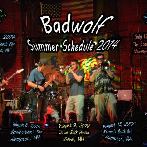 Badwolf - Funk Band / Reggae Band in Portsmouth, New Hampshire