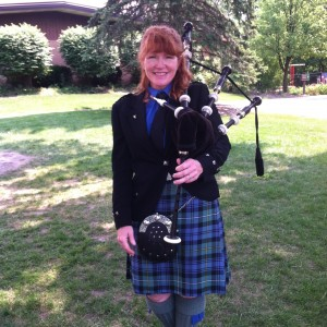 Bagpipe Mary - Bagpiper in Palatine, Illinois