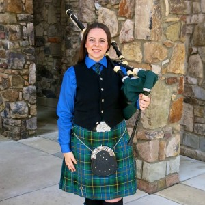 Bagpiper Ally McKinnis - Bagpiper in Charlotte, North Carolina