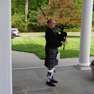 Bagpiper for hire!