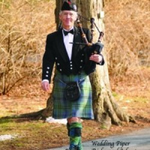 Bagpiper Richmond Johnston