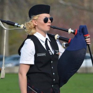 Bagpipes by Amanda Baughman - Bagpiper in Hershey, Pennsylvania