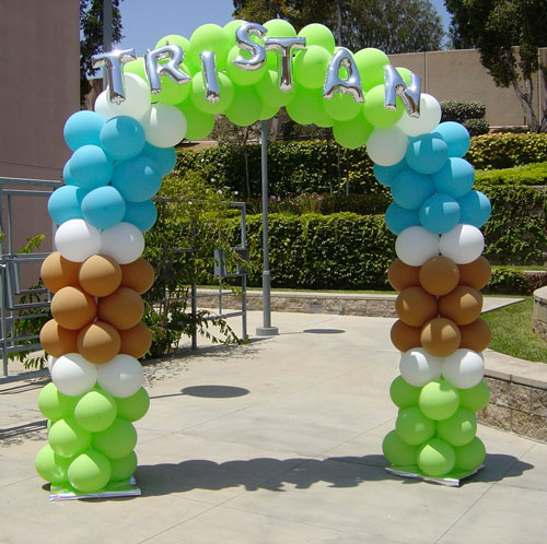 Hire balloon divas balloon decor in los angeles california for Balloon decoration los angeles