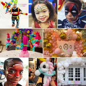 Balloon Twisting & Face Painting - Face Painter / Halloween Party Entertainment in Fort Lauderdale, Florida