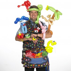 Balloon Artist Russ - Balloon Twister in Edmonton, Alberta