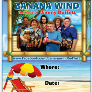 Banana Wind Band - Jimmy Buffett Tribute in Whitewater, Wisconsin
