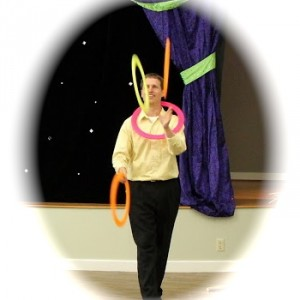 Barefoot Juggling - Juggler / Children's Party Entertainment in Raleigh, North Carolina