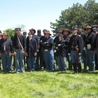 Battery D, 1st Michigan Light Artillery - Civil War Reenactment in Scottville, Michigan
