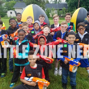 Nerf Party - Battle Zone Nerf - Children's Party Entertainment / Mobile Game Activities in Landenberg, Pennsylvania
