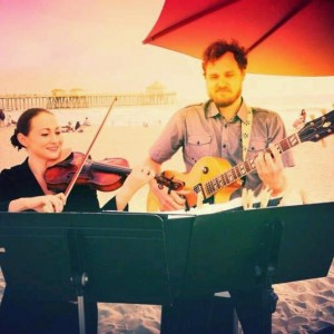 Beach Violin with Ukulele & Others - Classical Duo / Violinist in Huntington Beach, California