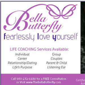 Bella Butterfly - Motivational Speaker in Charlotte, North Carolina