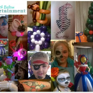Belton Entertainment - Balloon Twister / Face Painter in Richmond, Virginia
