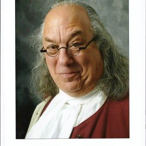Benjamin Franklin by Barry Stevens - Historical Character / Look-Alike in Arlington, Virginia