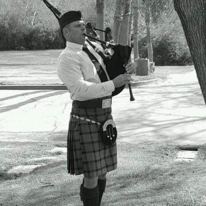 Benjamin Scott Johnston - Bagpiper in Alpine, California
