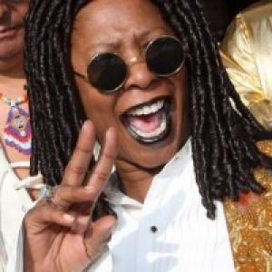 Bernadottae Larson as Whoopi Goldberg - Whoopi Goldberg Impersonator in Las Vegas, Nevada