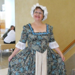 Betsy Ross - Historical Character in Eustis, Florida