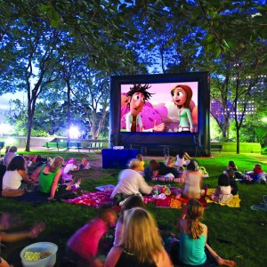 Big Flixx Outdoor Movies - Outdoor Movie Screens / Video Services in Charlotte, North Carolina