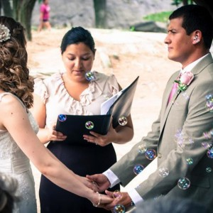 Bilingual Wedding Officiant Alexandra Paez