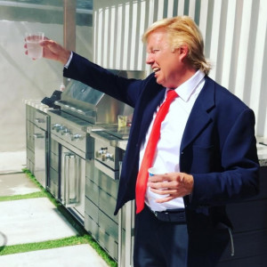 Donald Trump AKA Bruce Adel - Donald Trump Impersonator in Hollywood, California