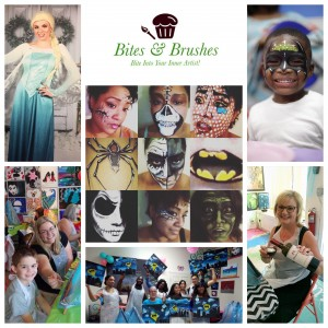 Bites & Brushes - Arts & Crafts Party in Augusta, Georgia