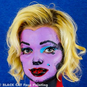 BLACK CAT Face Painting - Face Painter in St Petersburg, Florida