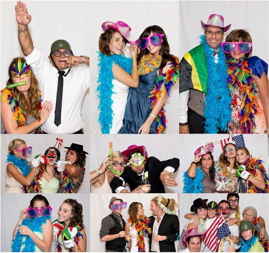 hire black tie productions dj photo booth uplights