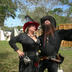 Blackbeard - Pirate Entertainment in Loxahatchee, Florida