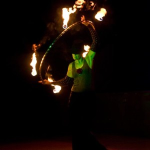Blaze - Fire Dancer in Naples, Florida