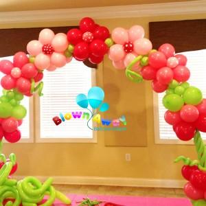 Blown Away Balloon Decor