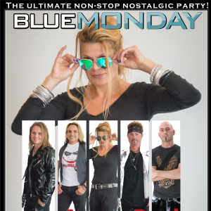 Blue Monday - Perfection of the 80's & 90's - 1980s Era Entertainment in Charlotte, North Carolina