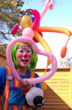 Hire Blue Sky Fun Times Clown In Houston Texas