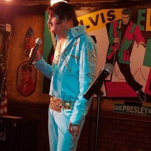 Bob O. East Texas Elvis - Rock & Roll Singer in Athens, Texas