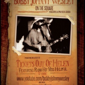 Bobby Wesley - Singing Guitarist in Helen, Georgia