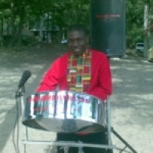 Bosco - Steel Drum Player in Chapleau, Ontario