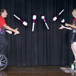 Bounce and Ooo La La - Educational Entertainment / Juggler in Key West, Florida