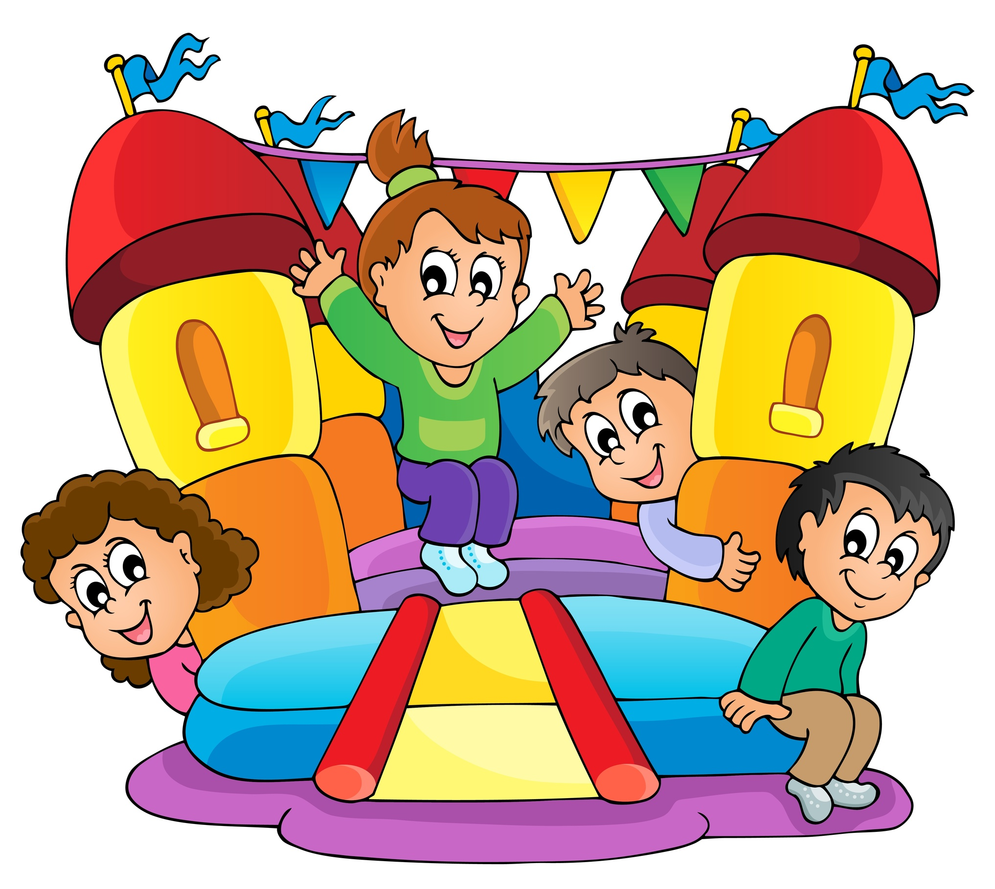 free bounce house clipart - photo #20