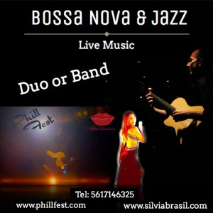 Brasil Fest - Bossa Nova & Jazz Live - Singing Guitarist / Acoustic Band in West Palm Beach, Florida