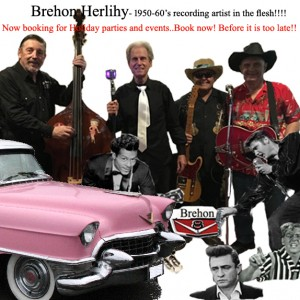 Brehon Herlihy and the V8's - Oldies Music in Mansfield, Massachusetts