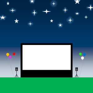 Bring the Big Screen - Outdoor Movie Screens / Halloween Party Entertainment in Durham, North Carolina