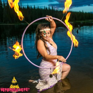 Brittany Berry Visual Performance - Fire Performer / Mardi Gras Entertainment in Boulder, Colorado