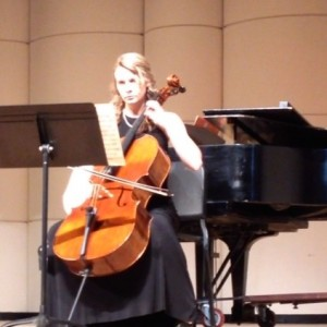 Brittany Cox - Cellist in Greenville, North Carolina