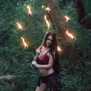 Brittney Burchfield - Fire Performer / Fire Dancer in Knoxville, Tennessee