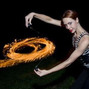 Brittney Iso - Fire Dancer in Greensboro, North Carolina