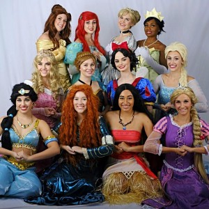 Royal Party Princesses - Face Painter / College Entertainment in St Louis, Missouri