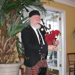 Bruce C. Wright - Bagpiper / Wedding Musicians in Durham, North Carolina