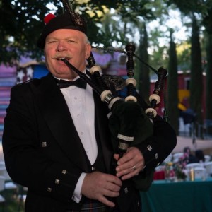 Bruce Locken - Bagpiper in Sacramento, California