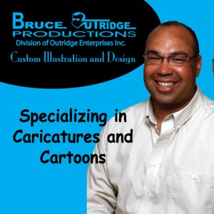 Bruce Outridge Productions - Caricaturist / Educational Entertainment in Burlington, Ontario