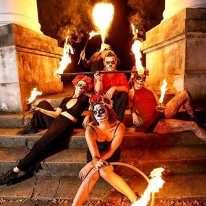 Brushfire Collective - Human Statue / Halloween Party Entertainment in Charleston, South Carolina